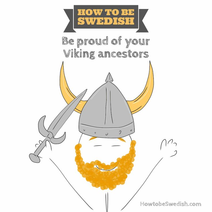 Swedish Vikings - How to be Swedish