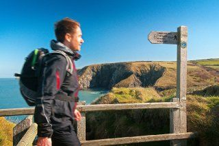 Pembrokeshire Coast Path, Wales, Pays de Galles