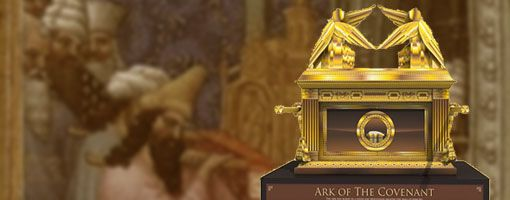 Make The Ark Of The Covenant Paper Craft