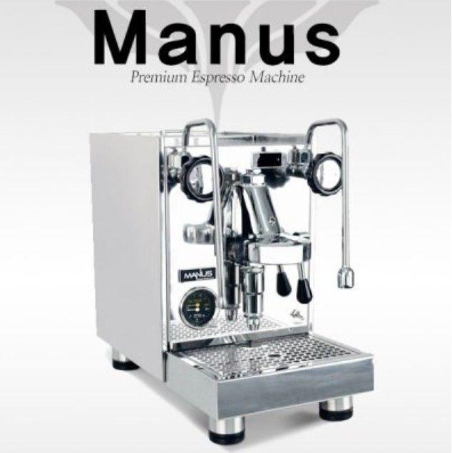 ELROCIO Espresso Coffee Machine MANUS Classical Stainless Design My 1st Barista  #ELROCIO