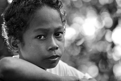 Aeta or Agta tribe boy,,, Philippines