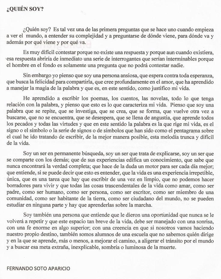 RESEÑA BIOGRÁFICA ESCOGIDA PARA DESNUDEZ AMARILLA DE FERNANDO SOTO APARICIO