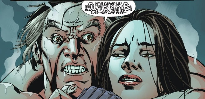 Image result for ra as ghul and talia al ghul