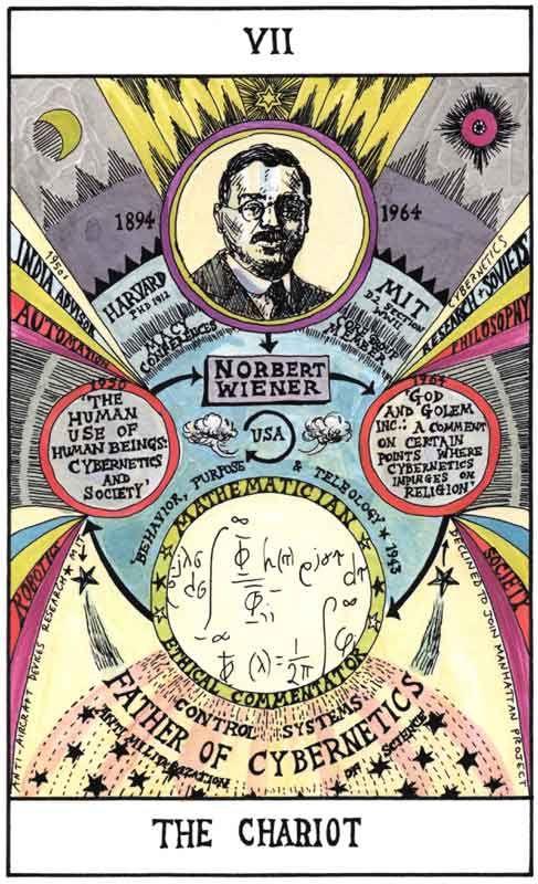 HEXEN 2.0 | TAROT: VII THE CHARIOT: Norbert Wiener - Mathematician