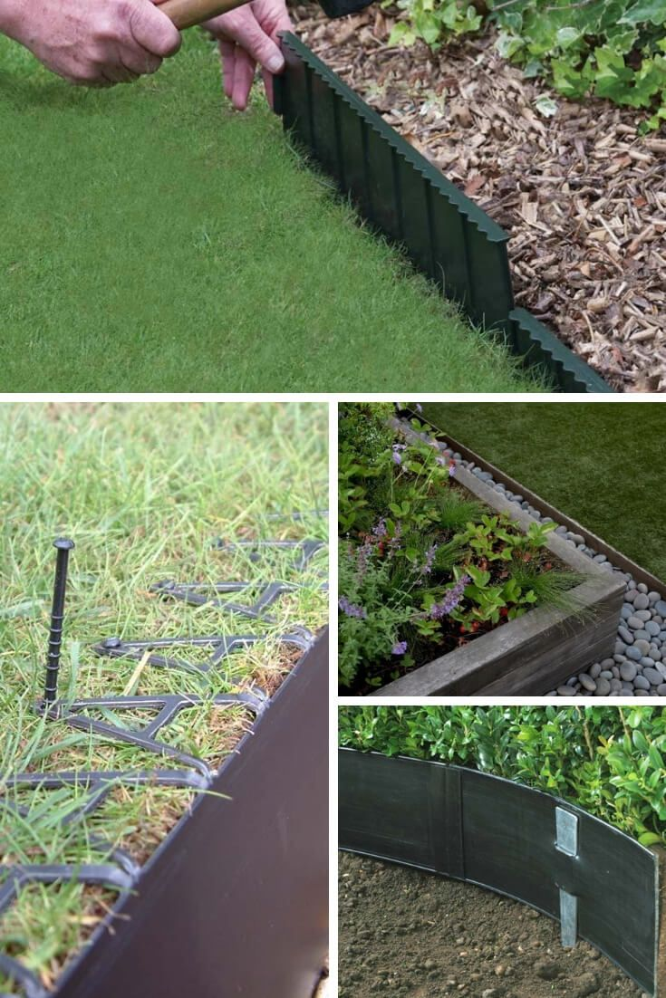 21 Brilliant Cheap Garden Edging Ideas With Pictures For 2020 Garden Edging Metal Garden Edging Landscape Edging Cheap