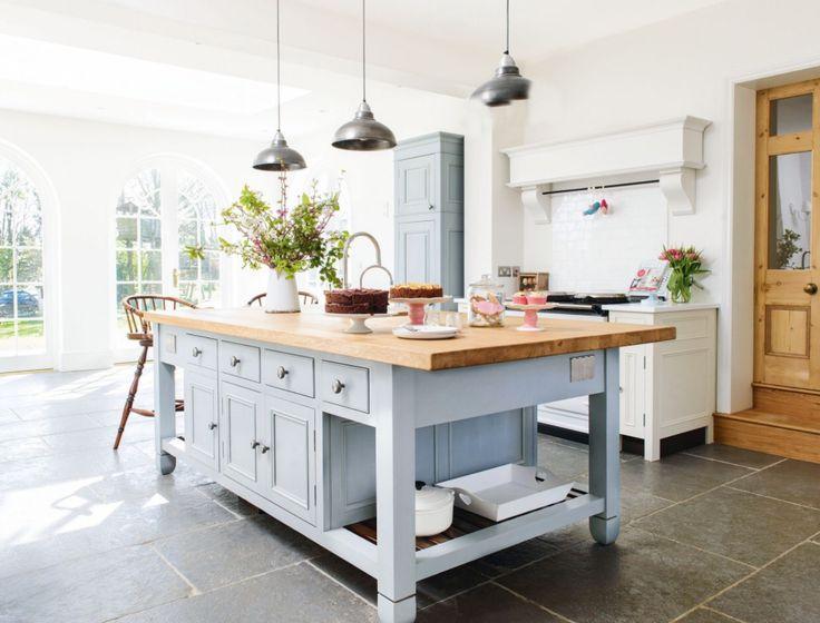 Chalon Cottage Kitchen Wooden Floor