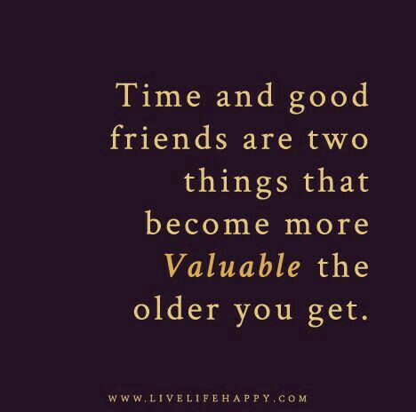 Grateful for those few friends I know I can count on and vice versa. It takes a friend to be a friend. Be that friend to someone.
