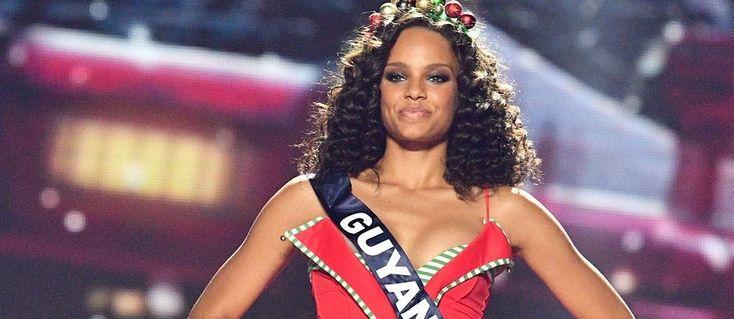Alicia Aylies, Miss Guyane devenue Miss France 2017