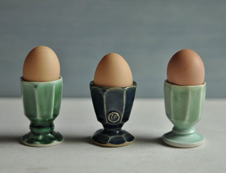 Egg Cups | Lucy Fagella Pottery