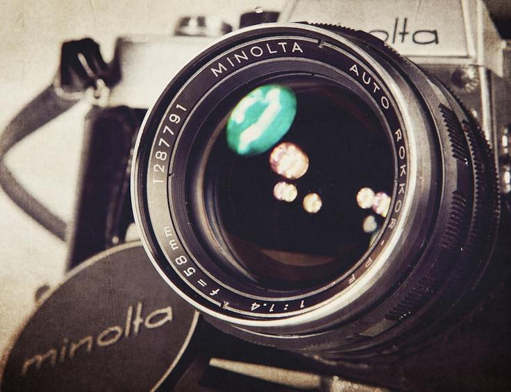 Vintage Camera Lens 112