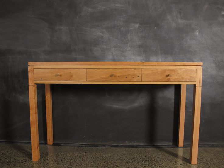 Messmate Hall Table Featuring Shadow Line Design.
