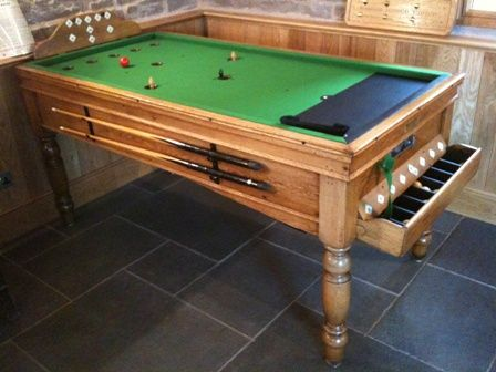 Homemade pool table plans if you have some basic for How to build a billiard table