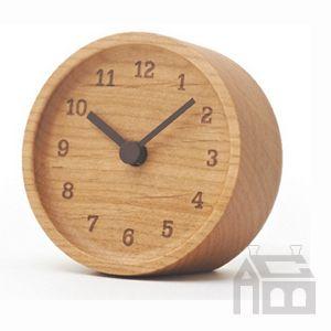 【OFFクーポンあり!】【ポイント10倍!】Lemnos MUKU desk clock レムノス ムク デスククロック  [置時計/置き時計/おき時計/おしゃれ/北欧]