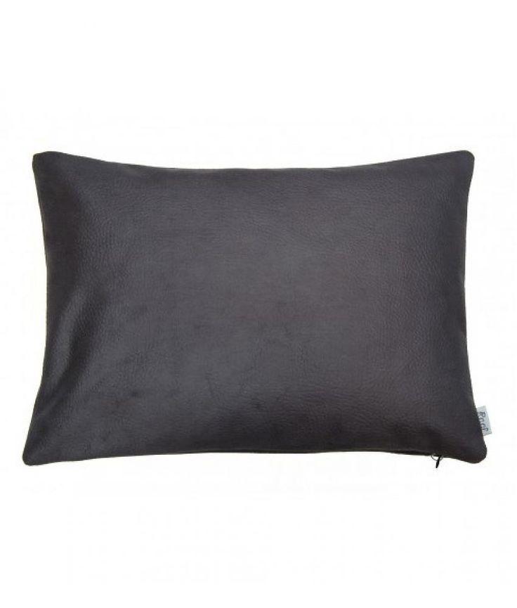 Raaf Sierkussenhoes Huid zwart 35x50