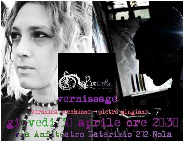 Pietro Mingione e Veronica Vecchione in MostraMithril Art