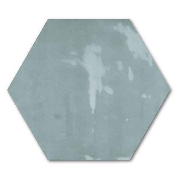 Kolekcja Vintage - płytki ścienne Hexagon Vintage Lake 17,5x20,2
