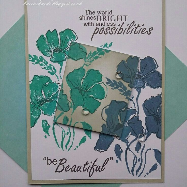 Stamps from Stamps By Me. This is Shines Bright.  #stampsbyme #dtsample #shinesbright #flowers #stamps #stamping #distressinks #cards #cardmaking #craft #creative #ilovetocraft #creativity #karenzkardz