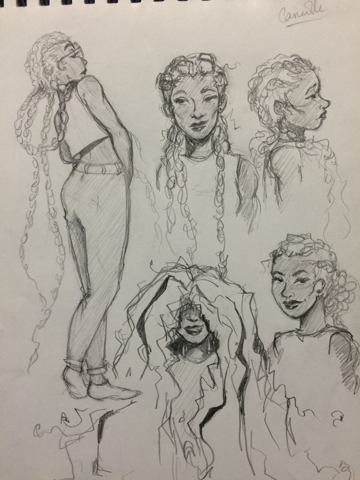 Robyn-Brooke Smith: Working on my characters Camille and Veronica ✨✨
