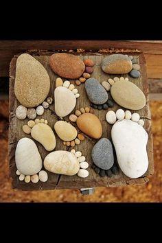 Rock Feet Stepping Stone