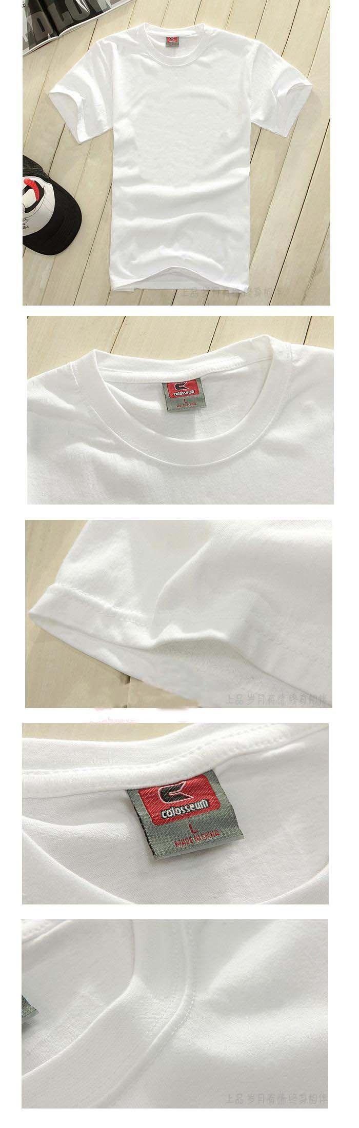 Чистый белый хлопок шею с коротким рукавом белая футболка класса обслуживания DIY ручная роспись футболки оптом полиграфической деятельности одежды - Taobao