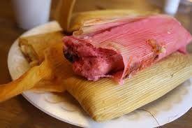 Tamales De Fresa - Strawberry Tamales