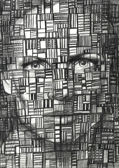 Face Portrait Martha Williams Pencil