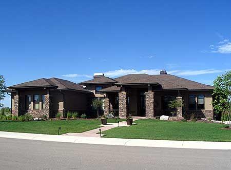 Plan 95013RW: Luxurious Prairie Style Home Plan