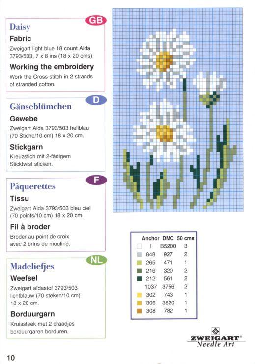 Gallery.ru / Фото #12 - разные цветочные схемы - irisha-ira