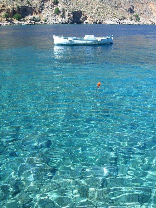 Loutro, Crete.  Greek waters are so beautifully clean
