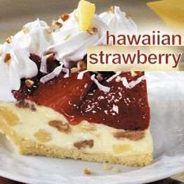 Bakery Chain Restaurant Recipes: Hawaiian Strawberry Pie