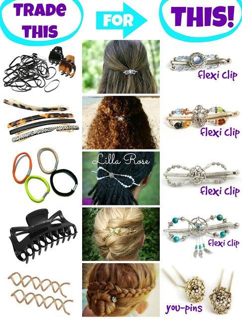 Lilla Rose Hair Accessory Giveaway! Win a Flexi Clip