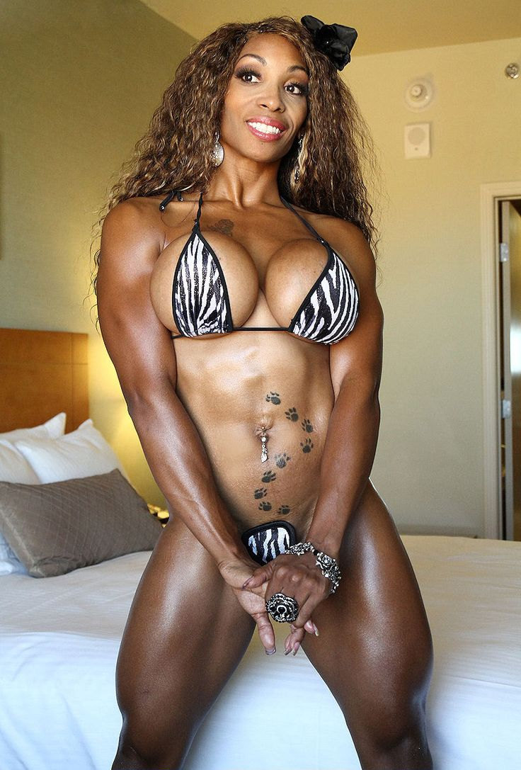Bodybuilder ebony