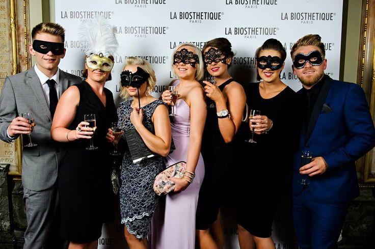 La Biosthetique, beauty stylist awards team photo