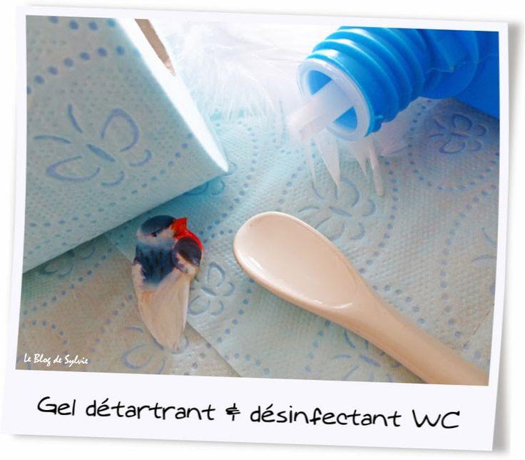 Le Blog de Sylvie: Gel détartrant et désinfectant WC