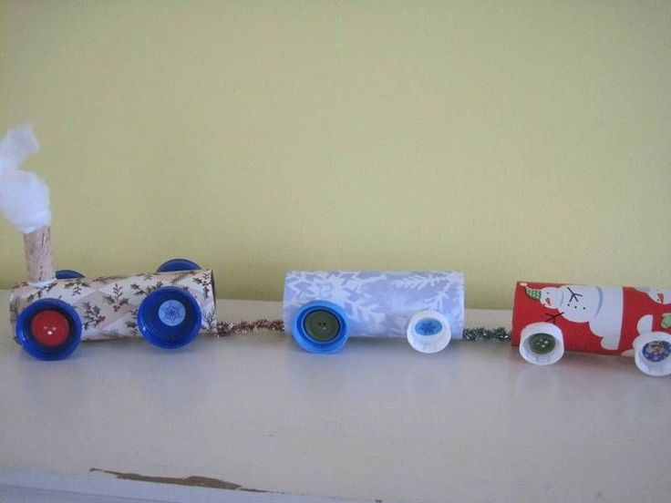 Easy Kids' Christmas Craft: All Aboard the Christmas Train | Suite101