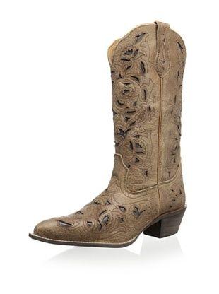 58% OFF Laredo Women's Miranda Crazy Horse Boot (Tan Crazyhorse)
