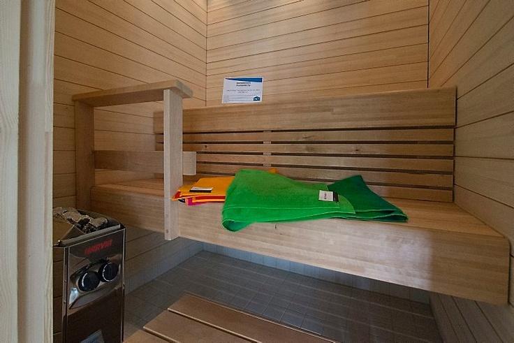 Lantti-talon sauna.