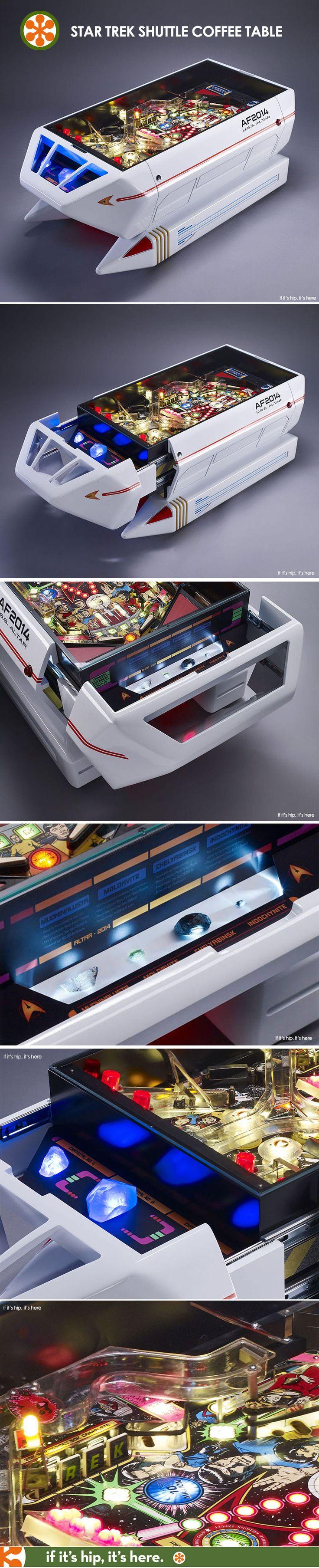 An Interactive Star Trek Shuttle Coffee Table? Make It So!