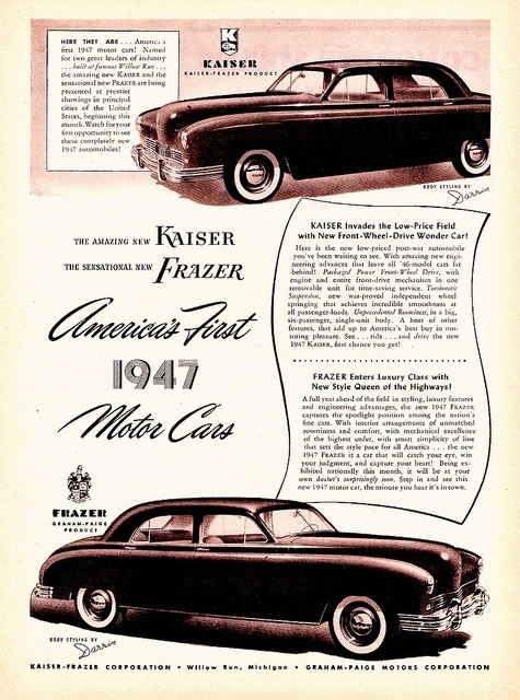 American cars 1940 - 1950: a collection of ideas to try ...