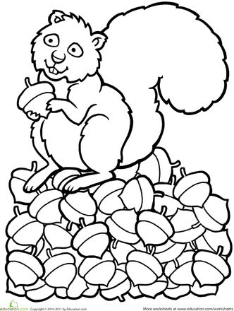 7 best coloring sheets teacupparty images on pinterest for Scaredy squirrel coloring pages