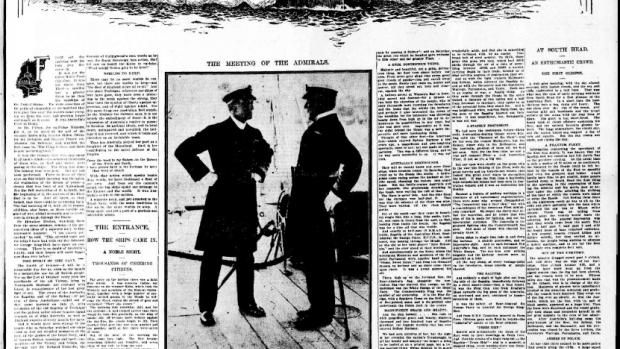 Page 5 of the Sydney Morning Herald on 6 October 1913.