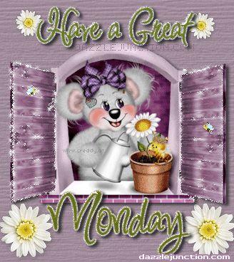 Happy Monday! :-)
