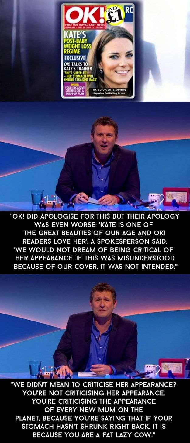 """When OK! Magazine published this front-page scoop the day after the Duchess of Cambridge gave birth to Prince George.   13 Adam Hills Rants By On """"The Last Leg"""" That Nailed It"""
