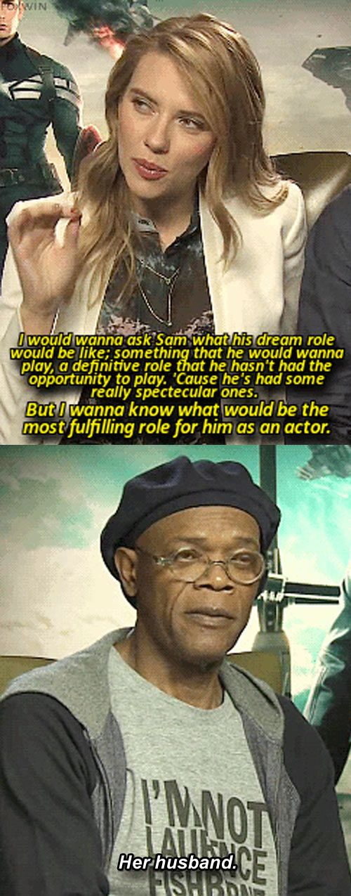 Samuel L. Jackson Being Smooth  // funny pictures - funny photos - funny images - funny pics - funny quotes - #lol #humor #funnypictures