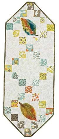 Free Table Runner Pattern: Autumn | August/September 2013 | Quilters Newsletter