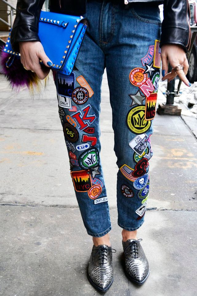 Save, Spend, Splurge: Patched Jeans