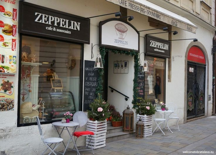 ZEPPELIN CAFE AND SOUVENIRS - WelcomeToBratislava