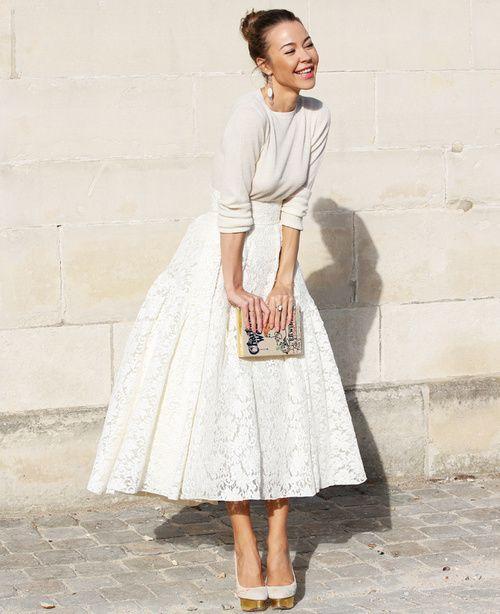 ulyanna sergeenko ~ paris fashion week ~ by nam dustjacket attic