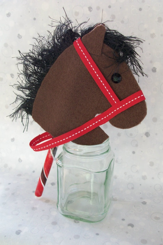 Candy Stick Horse Cherry Cola by RusticHorseShoe on Etsy, $3.50
