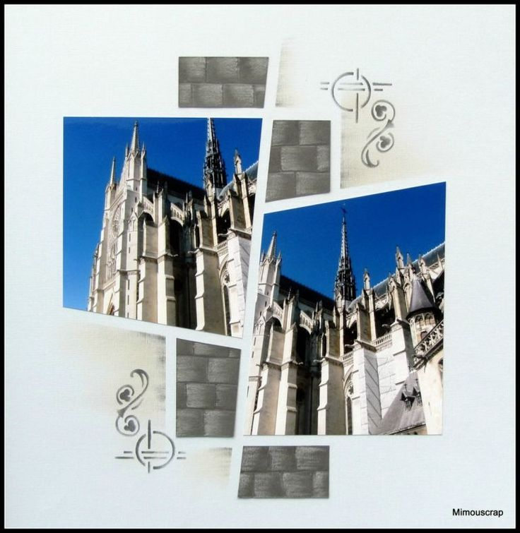 Amiens 2011 - La cathédrale - Mimouscrap - scrap européen